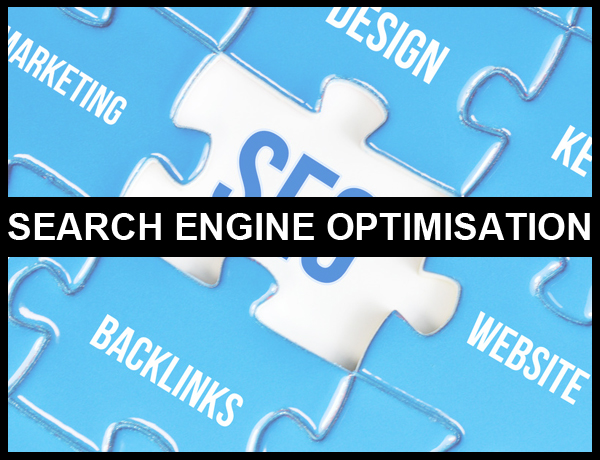 search engine optimisation shown as a puzzle piece