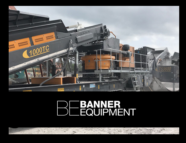 Banner Equipment website slideshow