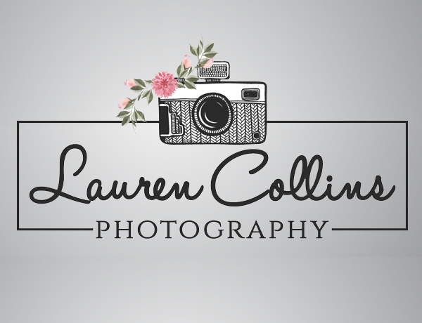 Lauren Collins Photography website logo