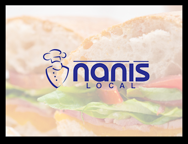 Nanis Catering in London selling sandwiches and lunches